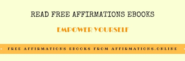 Read Free Affirmations eBooks - banner affirmations.online