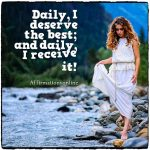 I have huge amounts of self-love!