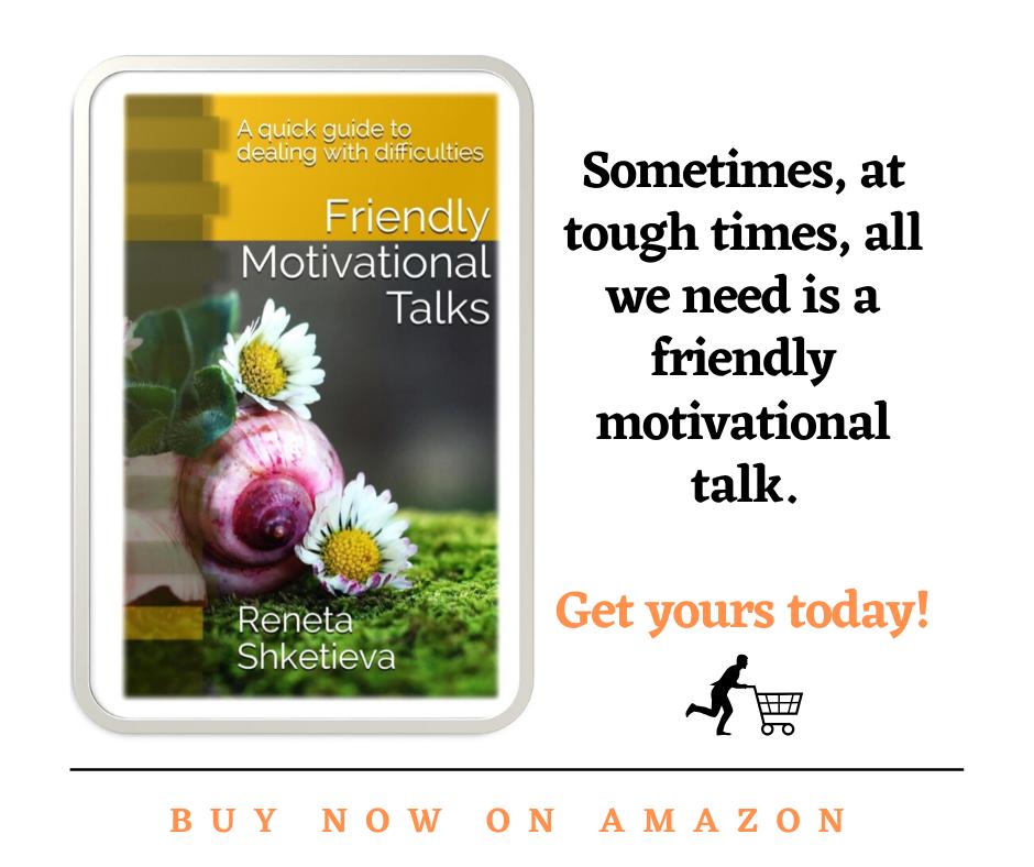 Friendly Motivational Talks - buy now banner