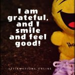 Gratitude fills my days with happiness!