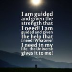 Constantly, I am guided and protected!