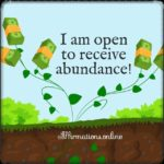 Abundance comes my way!