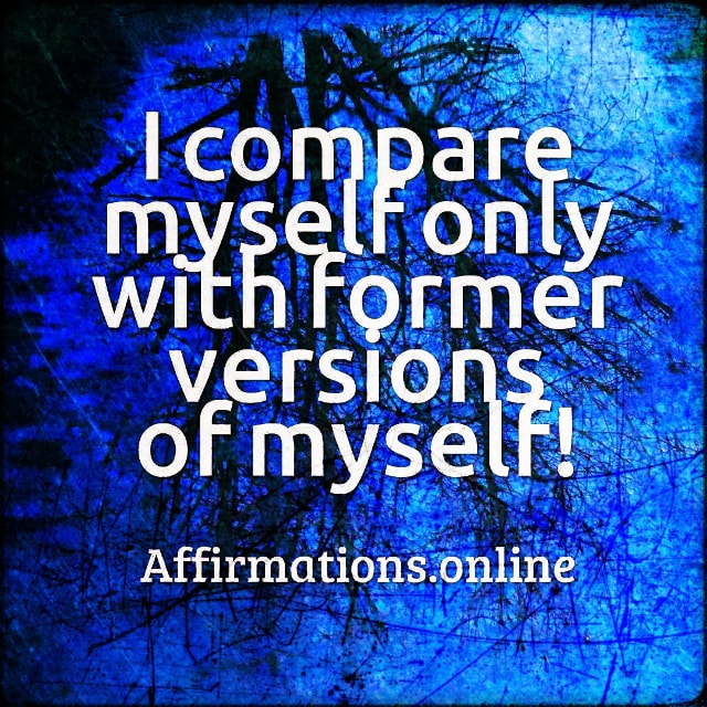 Positive affirmation from Affirmations.online -