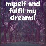 I create myself the way that I want myself to be!