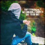 No matter how hard the struggle, I can persevere!