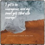 Daily Affirmation for courage 16.12.2020