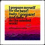 I create positive, helpful habits!