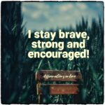 Daily Affirmation for courage 23.12.2020