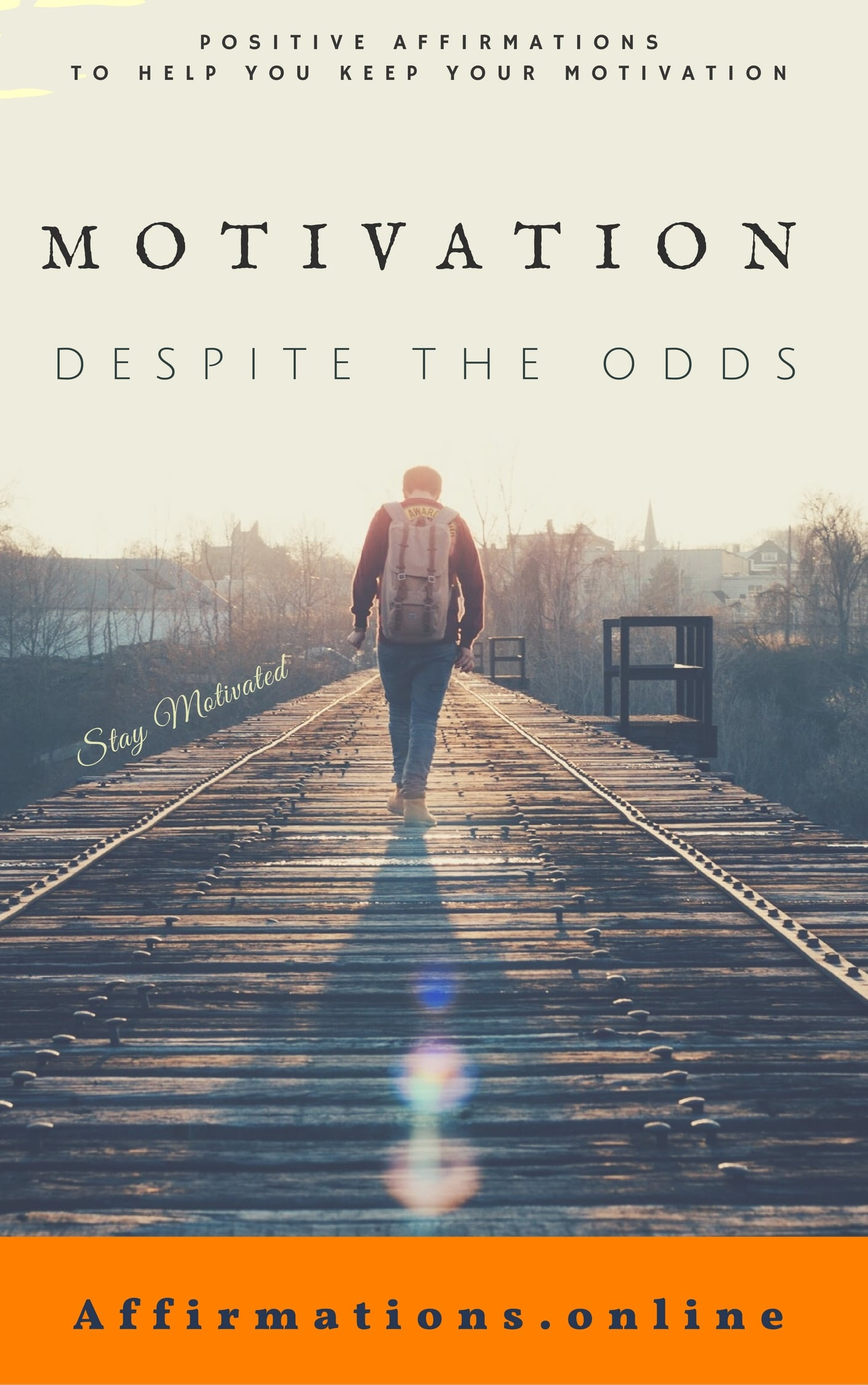 Motivation, Despite The Odds - eBook cover - free affirmations eBook from affirmations.online