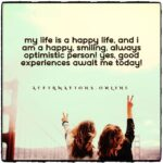Daily Affirmation for a happy life 15.10.2020
