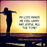 My life amazes me in positive ways each day!