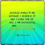 Daily Success Affirmation for 31.10.2020