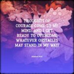 Daily Affirmation for courage 02.12.2020