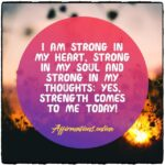 Daily Strength Affirmation for 16.04.2021